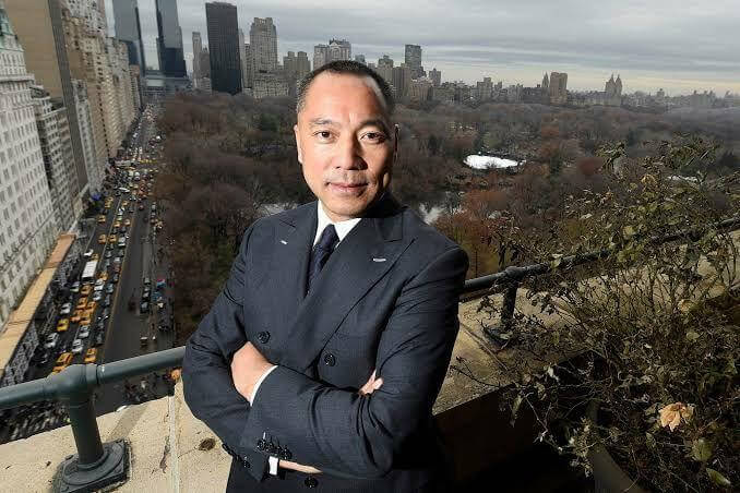 Guo Wengui, the exiled Chinese Businessman