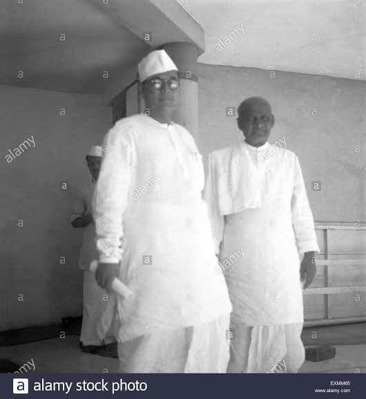 subhas chandra bose with patel